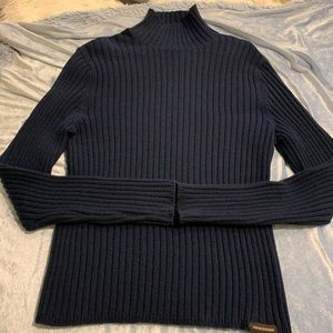 Abercrombie & Fitch Vintage Navy ribbed Sweater